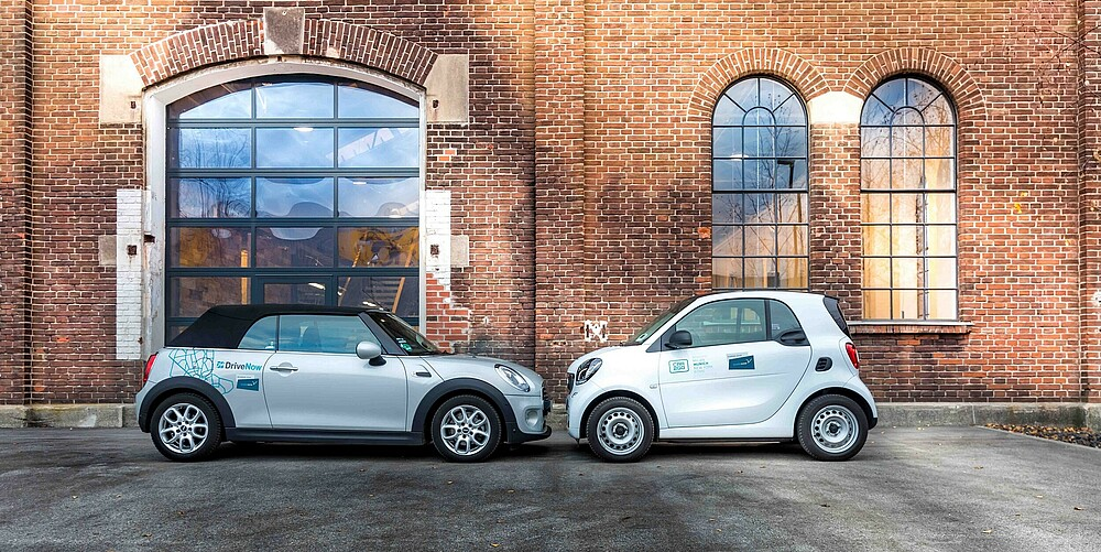 Berlin urban mobility: Car sharing with SHARE NOW