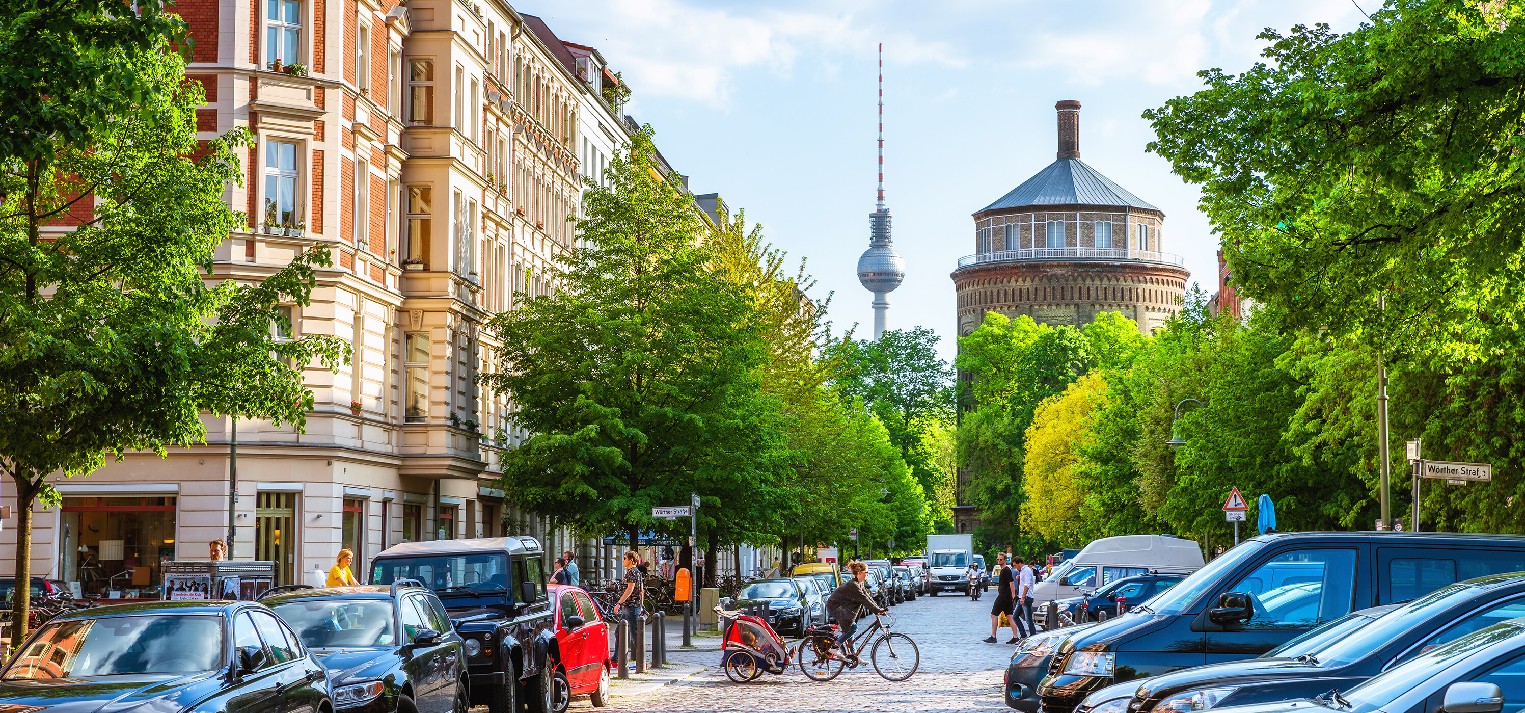 The pleasant central district Prenzlauer Berg has many creative businesses.