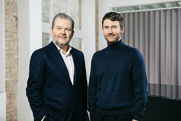 IDAGIO CEO & Founder Till Januczukowicz and Co-founder Christoph Lange