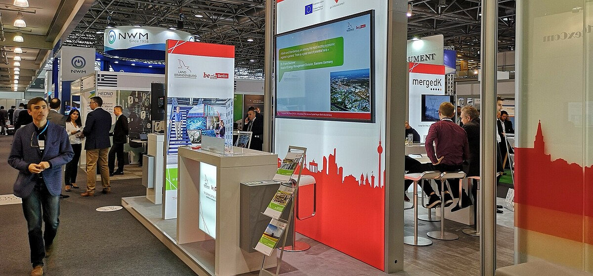 Berlin Brandenburg Booth at EUW 2018