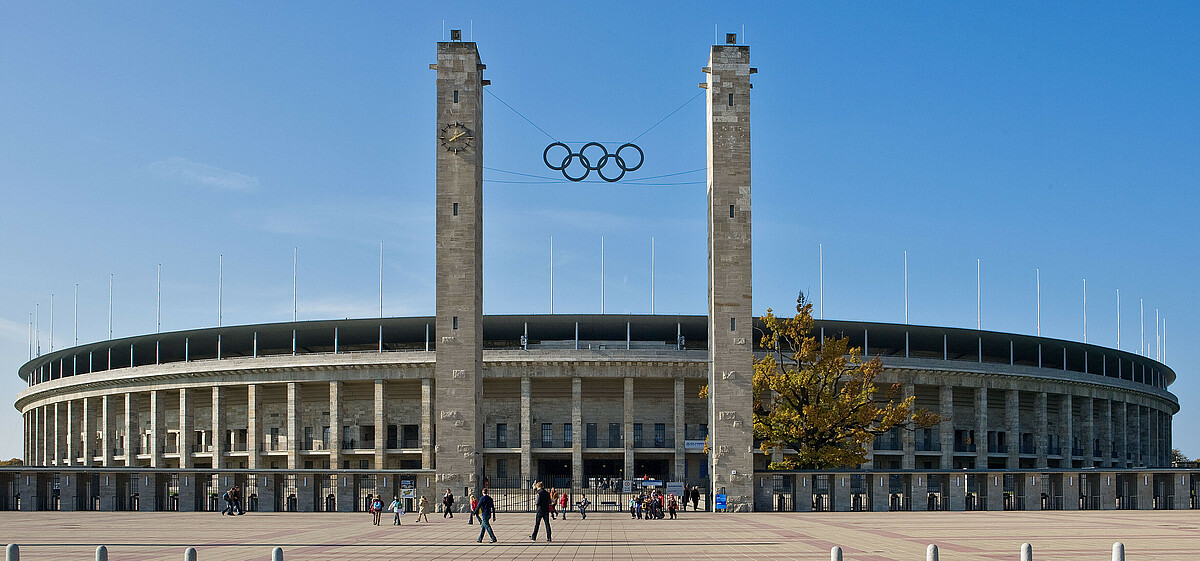 The Olympic Stadium Berlin