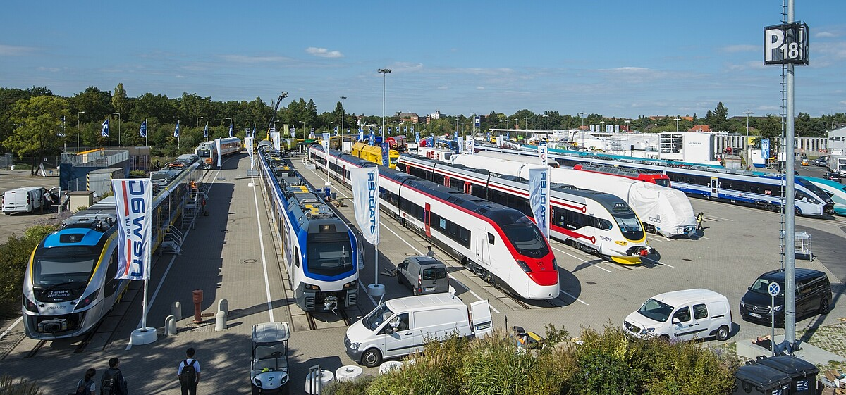 InnoTrans: Impressions of the Outdoor Display