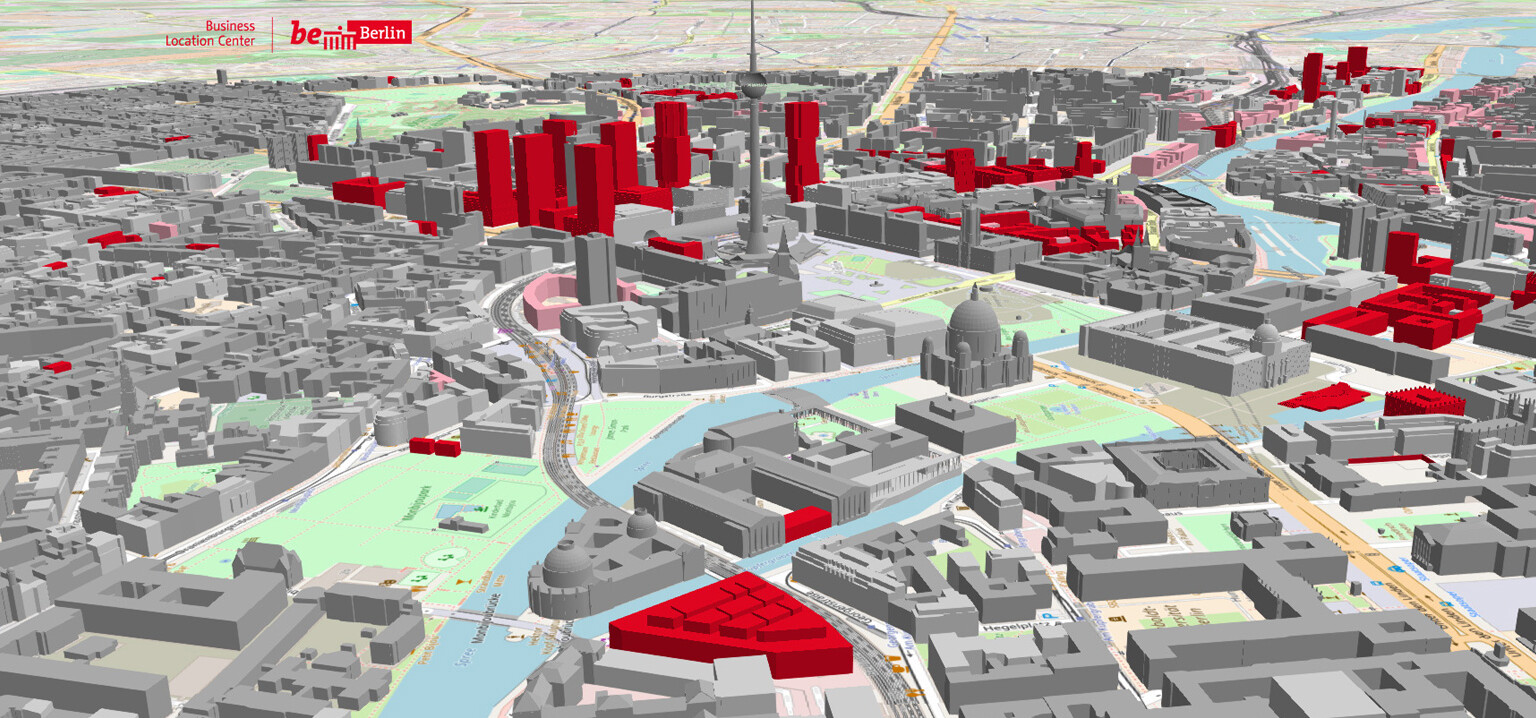 Berlin economic atlas - explore the business location