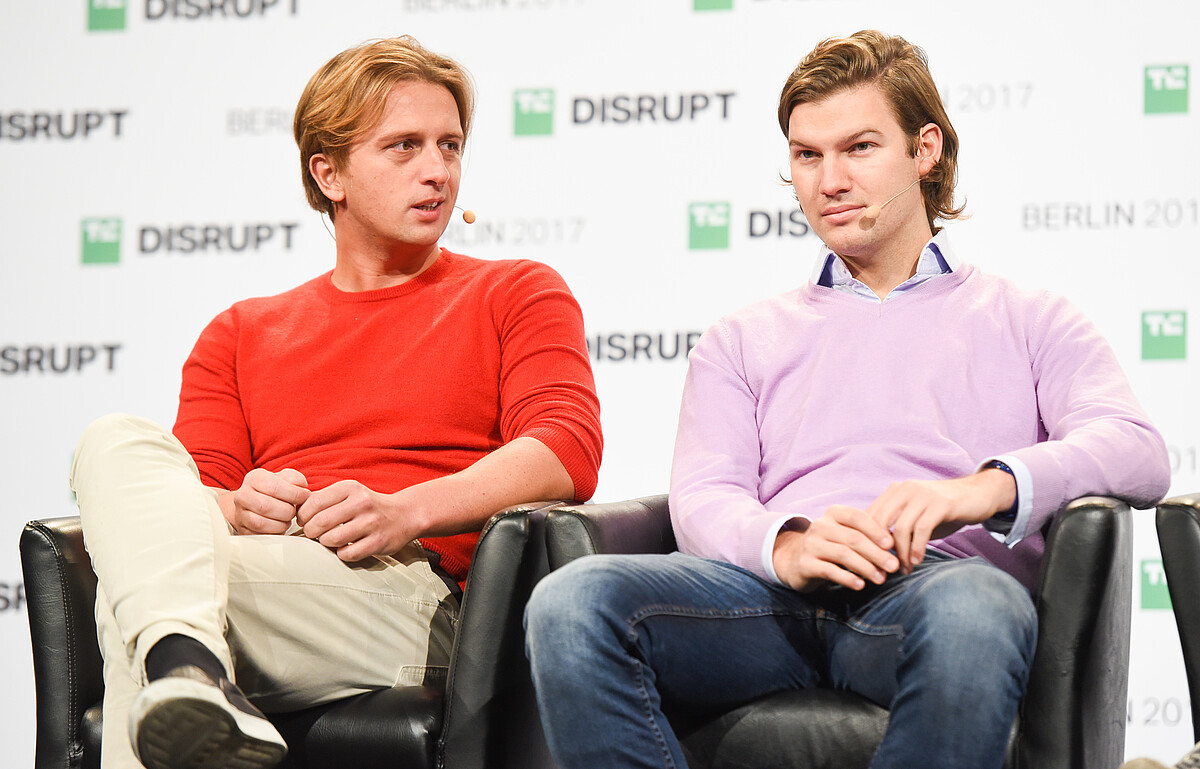 Two money tech founders, Revolut Nikolay Storonsky and N26 Valentin Stalf