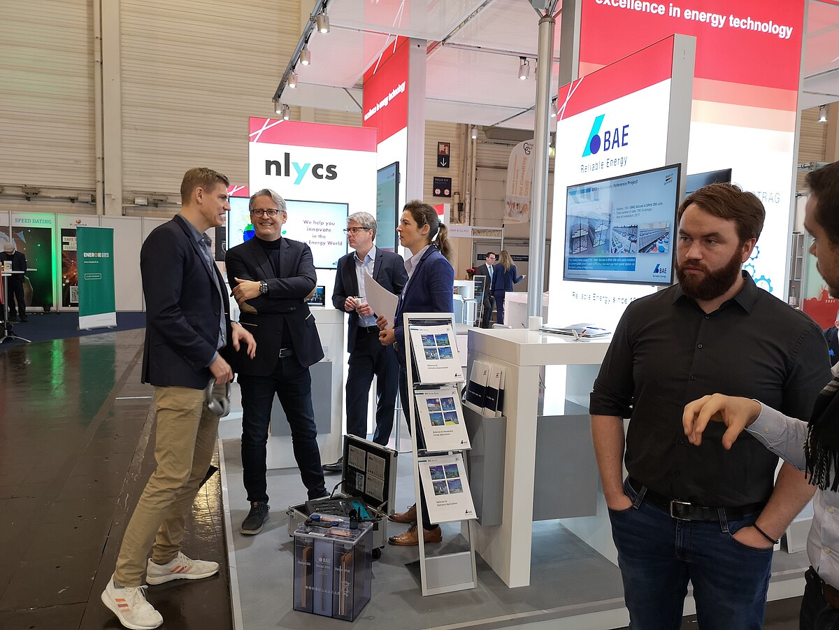 Berlin Brandenburg booth at E-World 2019