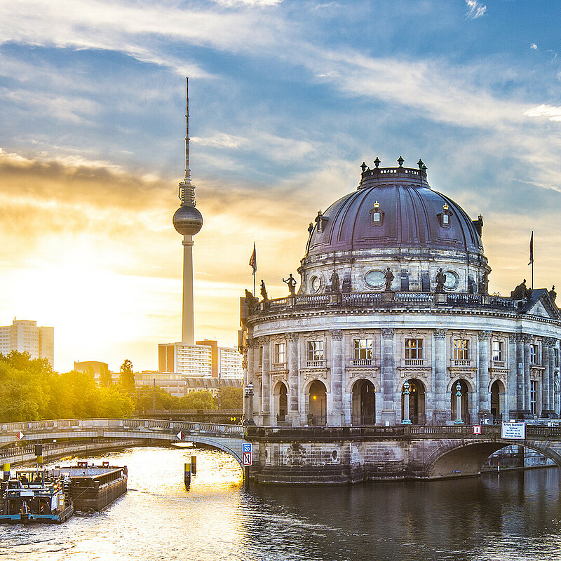 In the center of Berlin: the Museum Island