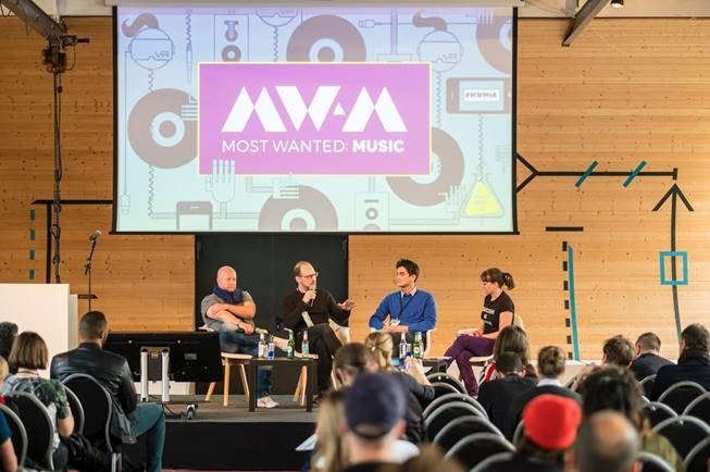 panel discussion at the Most Wanted: Music event