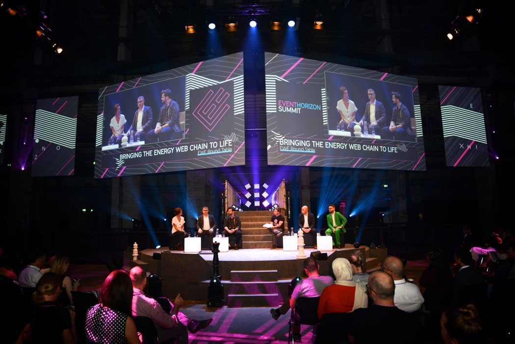 Impression from EvenHorizon Summit 2019 at Kraftwerk Berlin