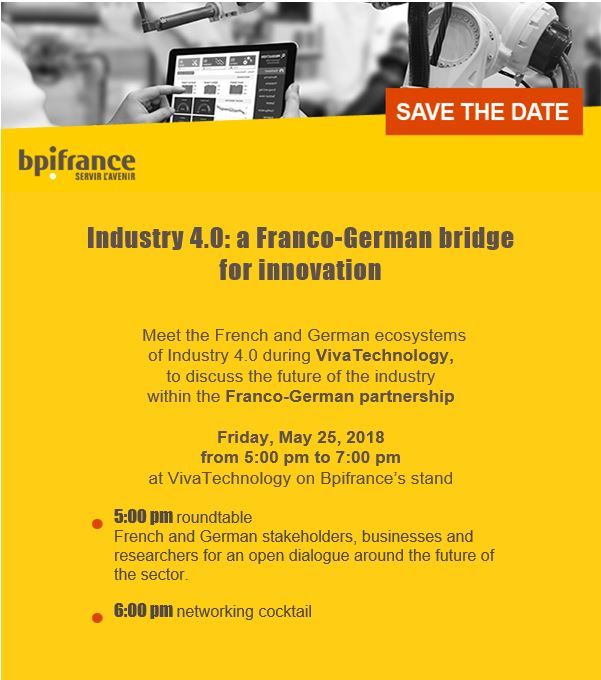 Industry 4.0 Event: A Franco-German bridge for innovation